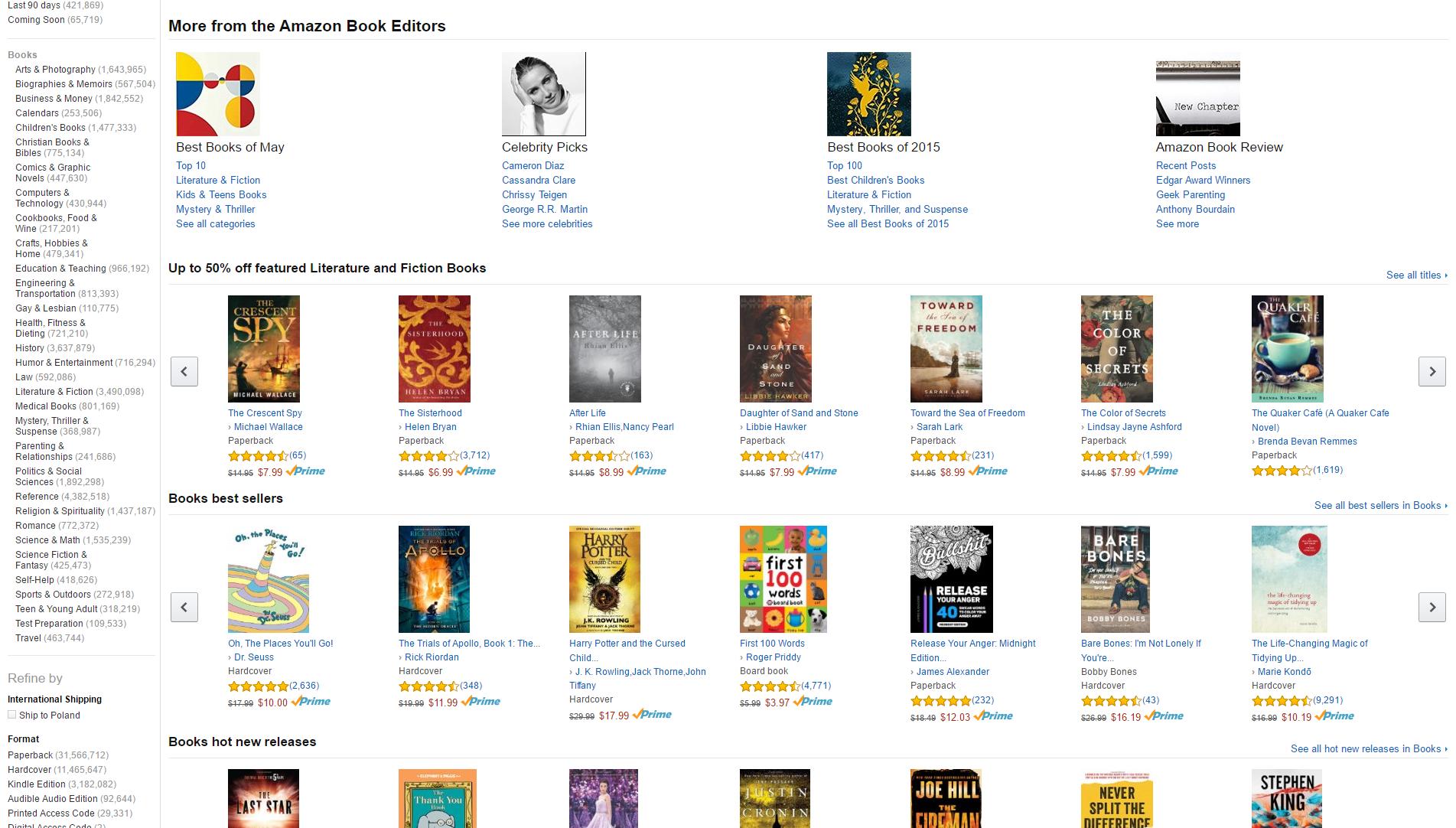 Amazon.com Books